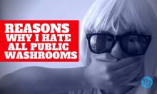 public washroom ewww
